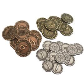 7 Wonders Duel : Pièces de monnaie (métal)