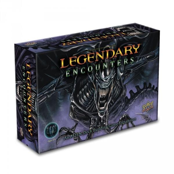 Legendary Encounters : an Alien Deck-building Game Expansion