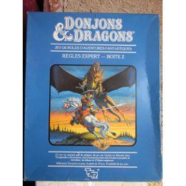 Donjon et dragon règles experts boite 2 (bleu)
