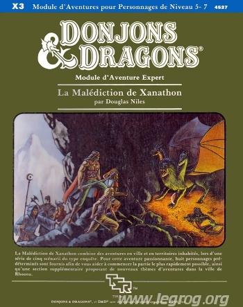 Donjons & dragons - 1ère édition VF - La Malédiction de Xanathon