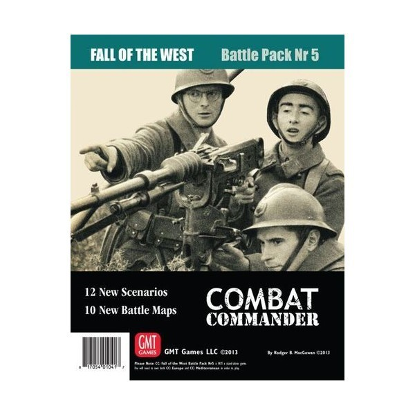 COMBAT COMMANDER BATTLE PACK NR 5 : FALL OF THE WEST