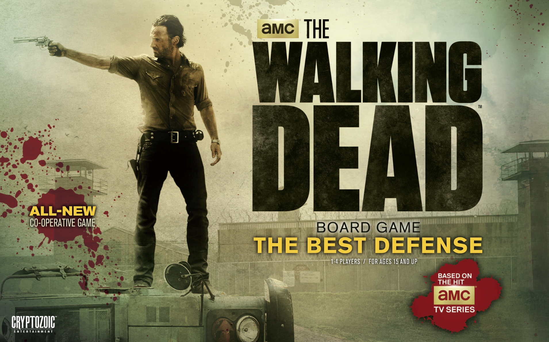 The walking dead the best defense