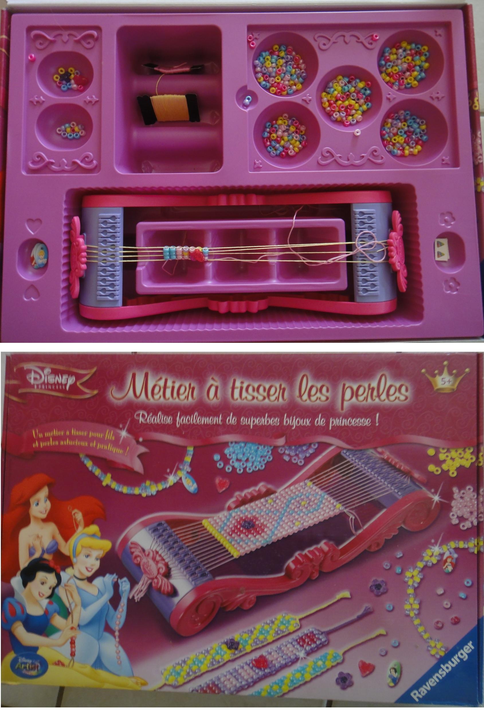 Acheter Metier A Tisser Les Perles Disney Princess D Occasion Sur