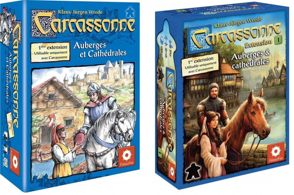 Carcassonne : 01 - Auberges & Cathédrales