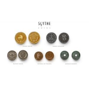 Scythe Pieces Metal (metal Coins)