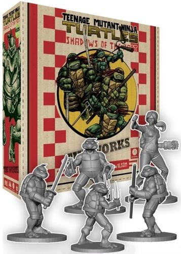 Teenage Mutant Ninja Turtles: Shadows of the Past - Pizza Box