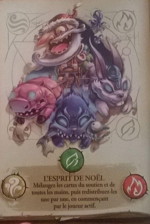 Big Book of Madness - Carte promo - Esprit de Noël