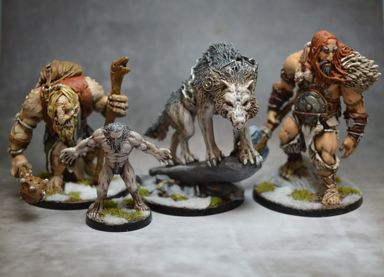 Blood Rage - Monstres Kickstarter
