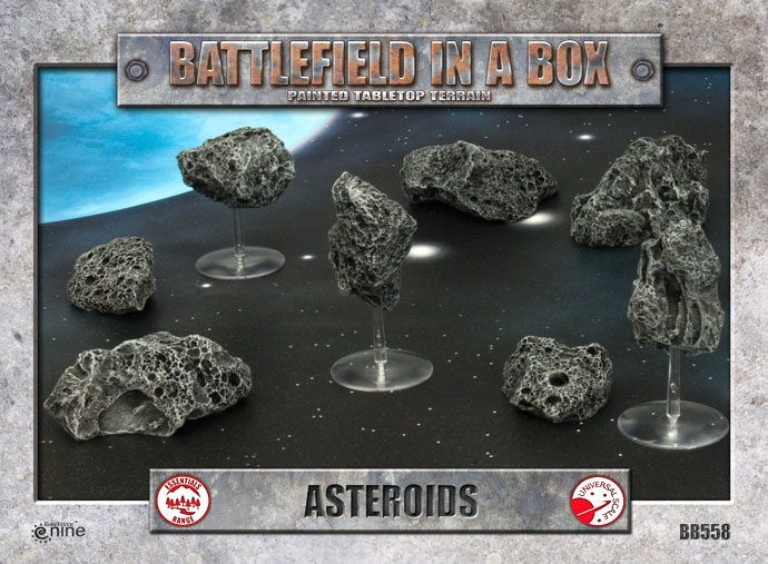 Battlefield in a Box: Asteroids (BB558)
