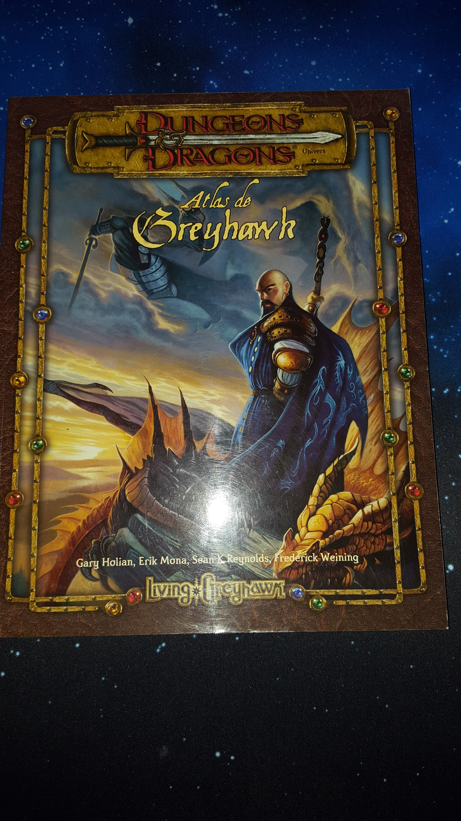 Atlas de gryhawk Donjons et Dragons 3.5 VF