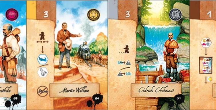 Lewis & Clark - Cartes supplémentaires