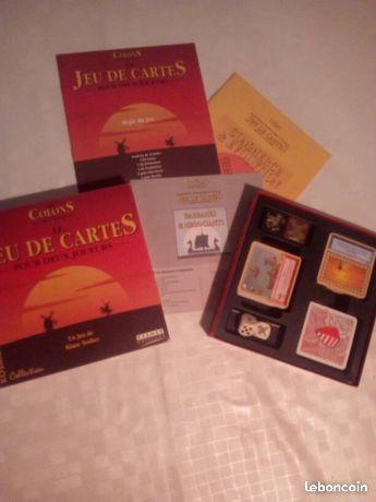 Les colons de Catane jeu de carte pour 2 joueurs + extensions