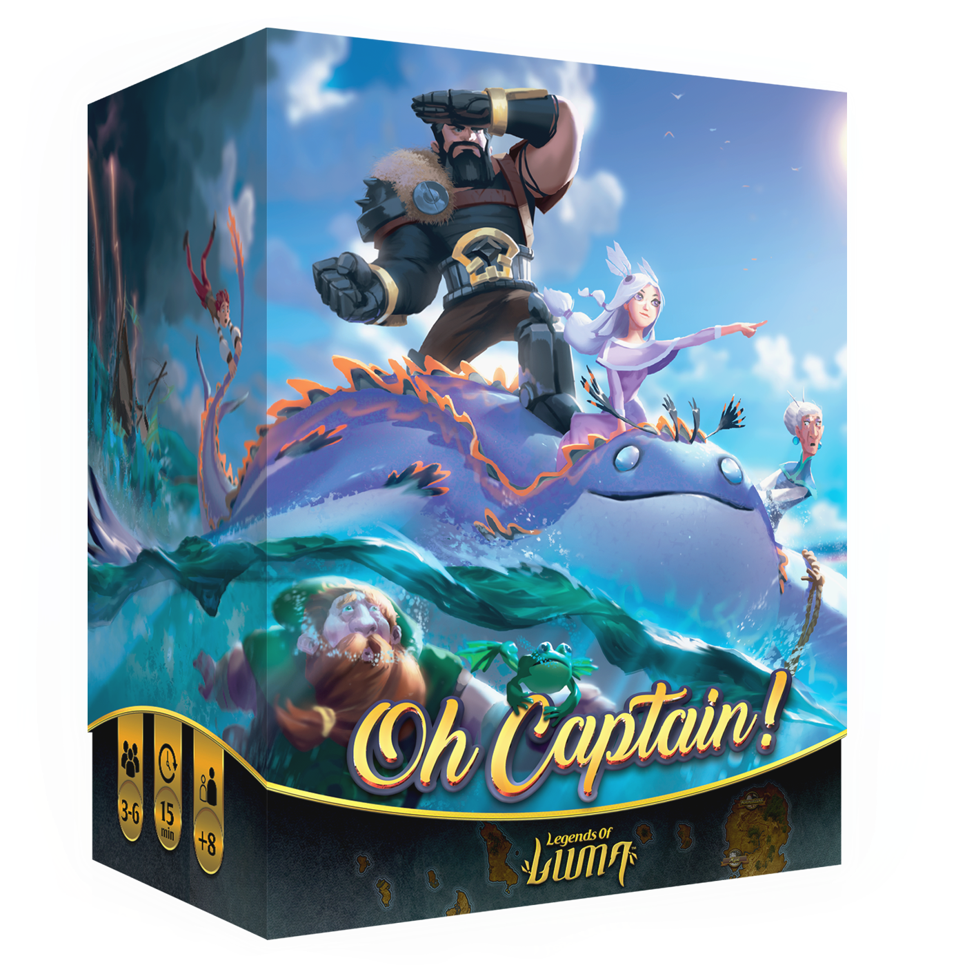 Oh Capitaine ! Legend of luma