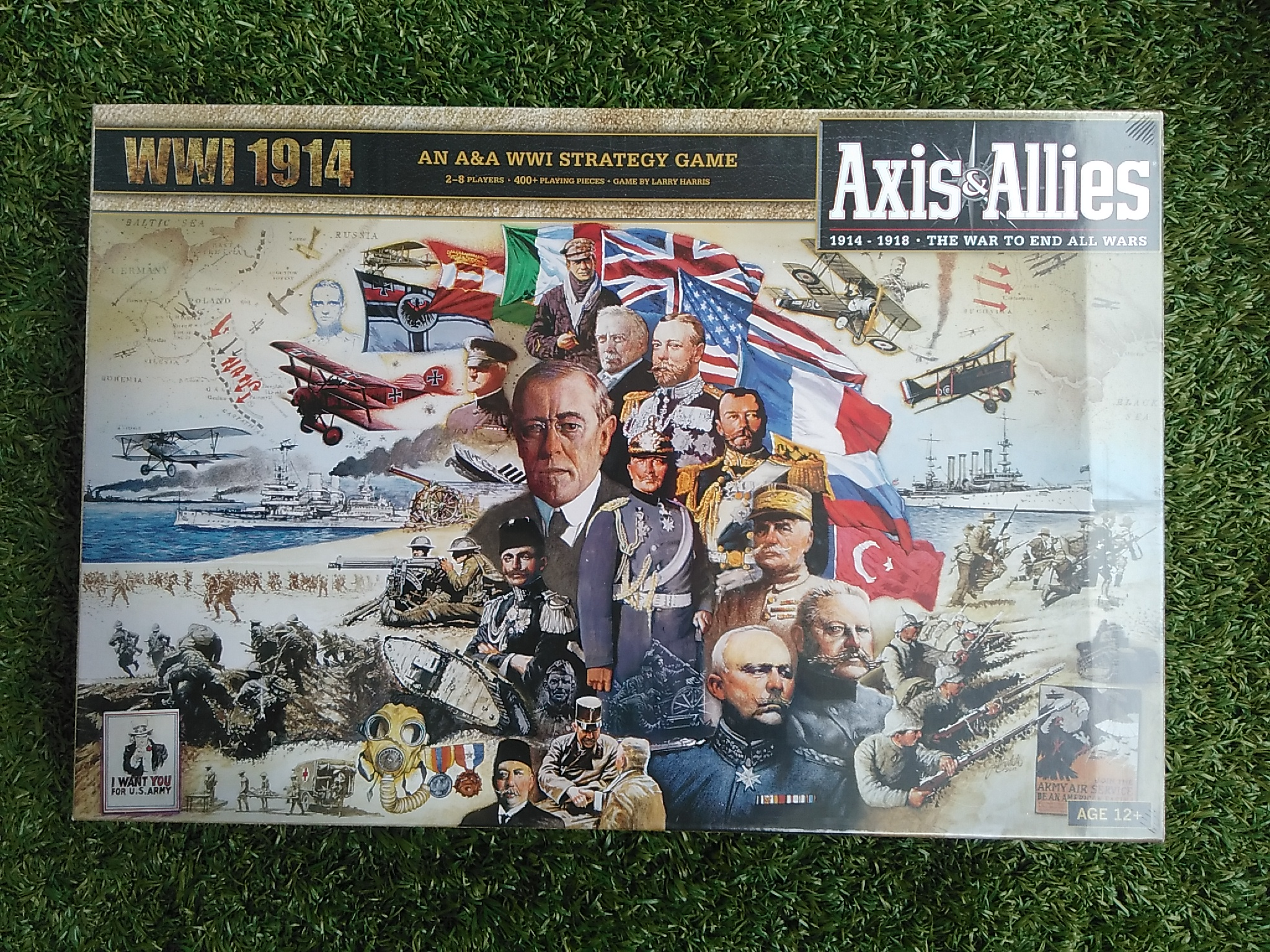 Axis & Allies WW1 1914