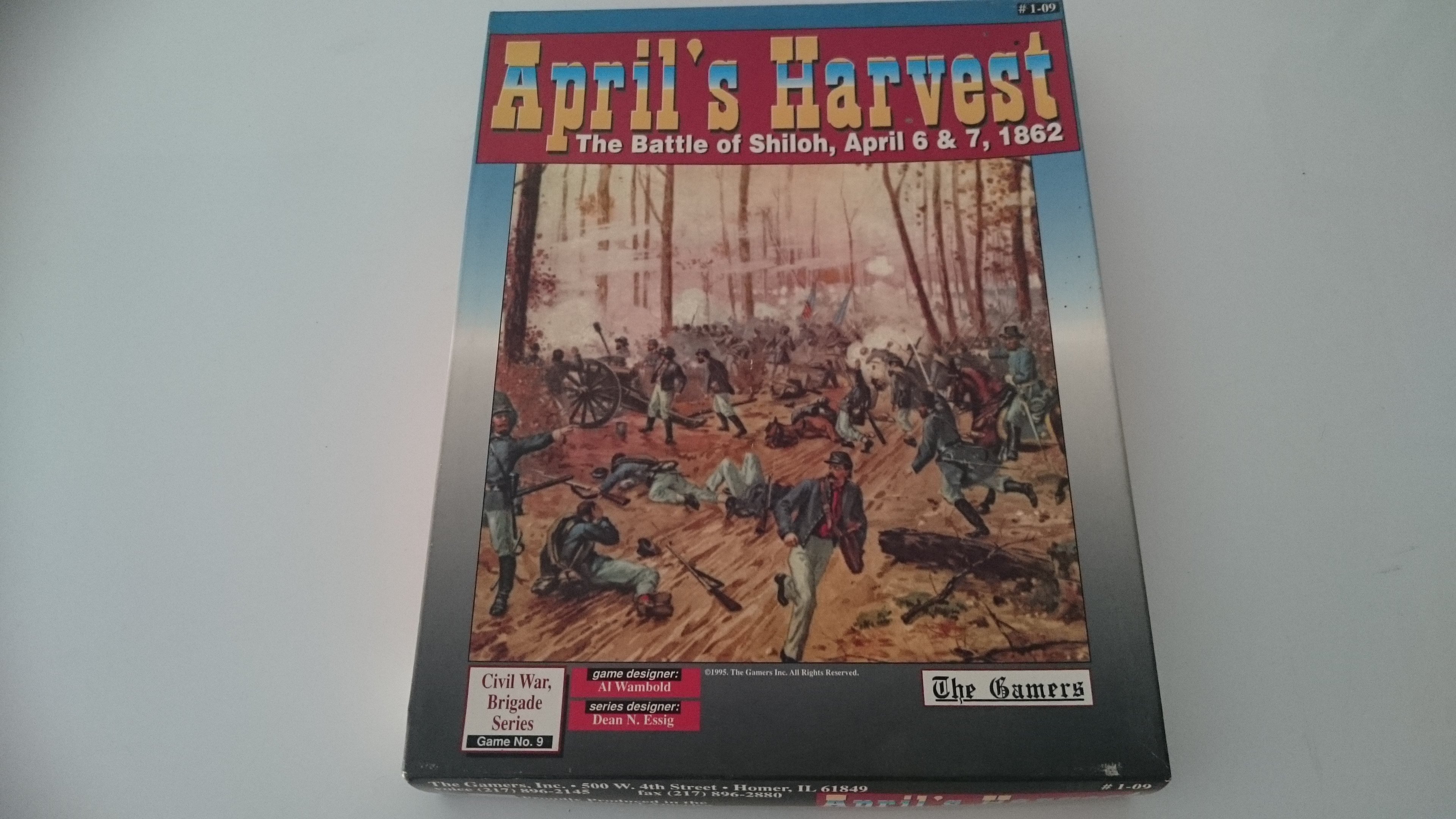 April's Harvest, The Battle of Shiloh, April 6-7, 1862