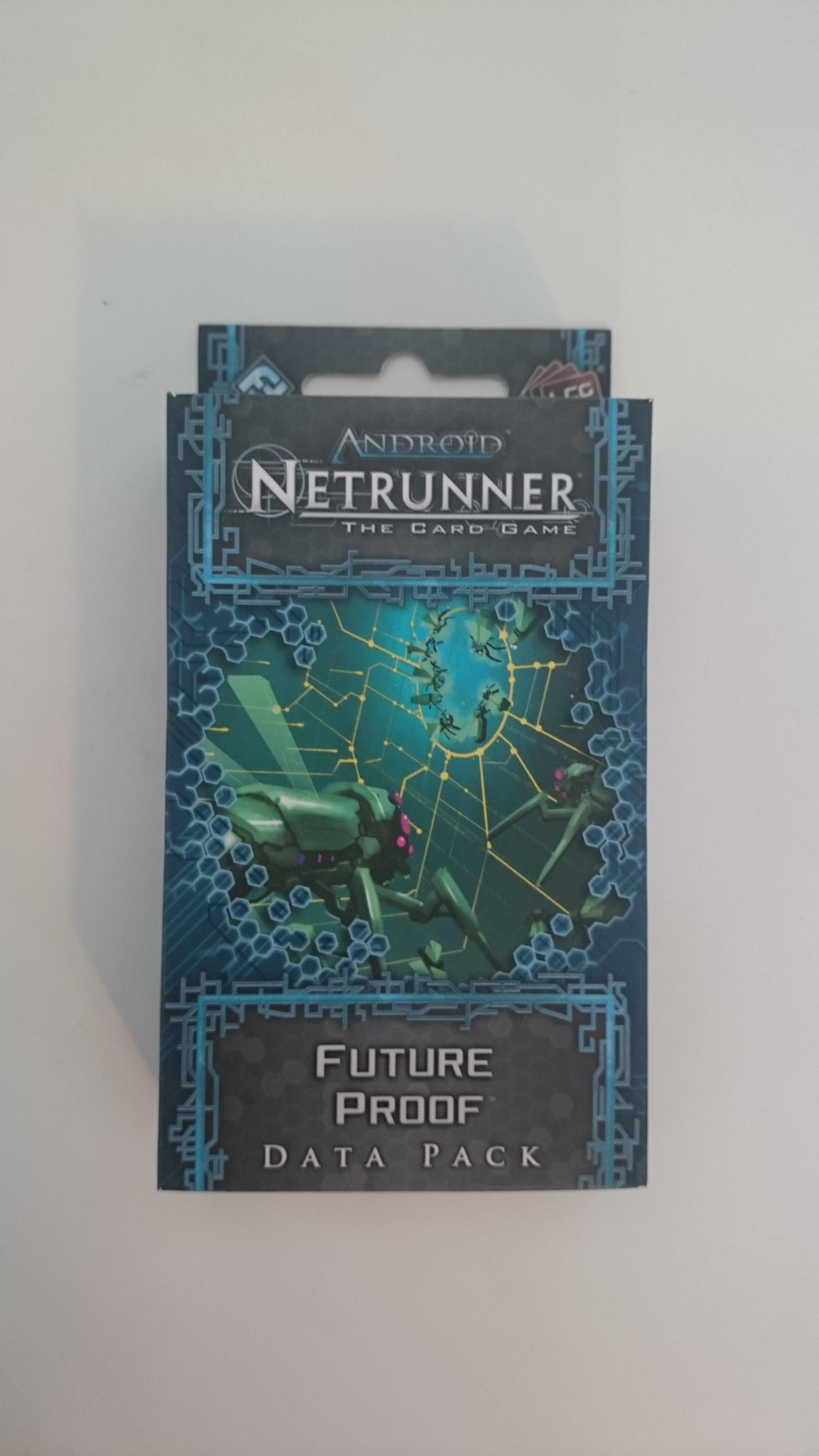 Android Netrunner - extension Future Proof / Technologies D'Avenir