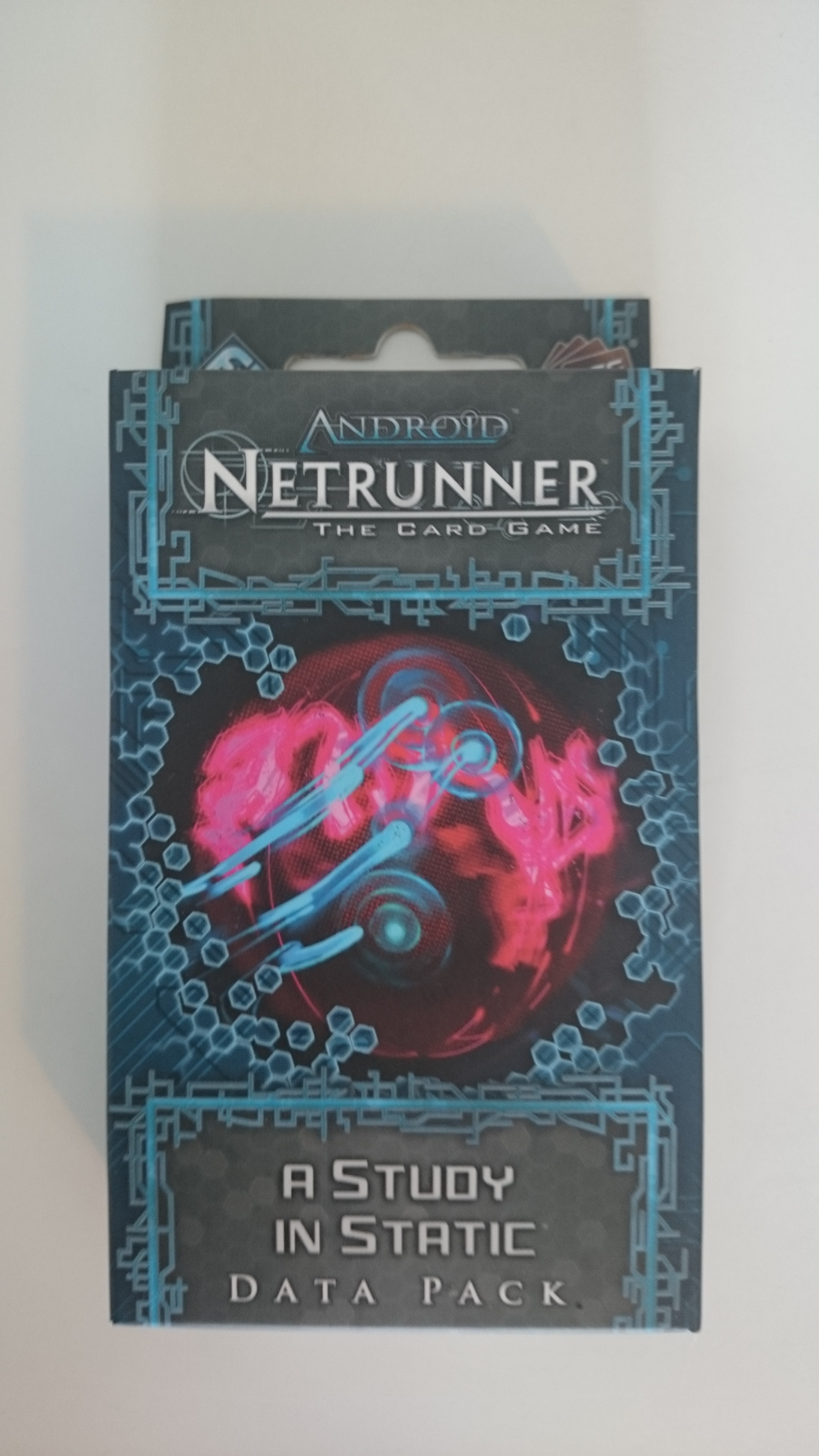 Android Netrunner - extension a Study in Static / Une étude en Neige