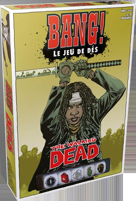 Bang! jeu de dés - The Walking Dead