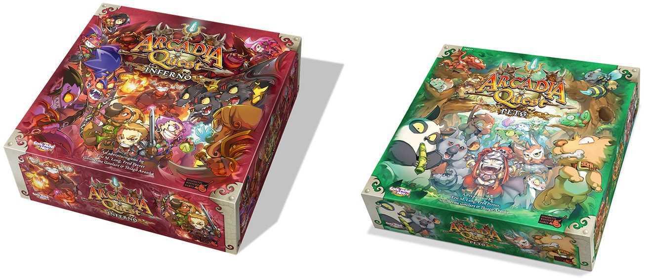 Arcadia Quest Inferno + Arcadia Quest Pets