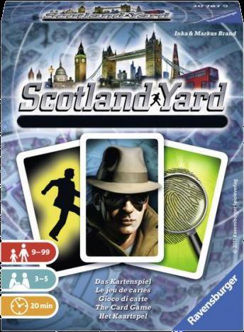 Scotland Yard - Le jeu de cartes