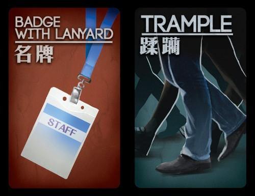 Deception: Murder in Hong Kong - CARTES PROMO Gen Con 2016