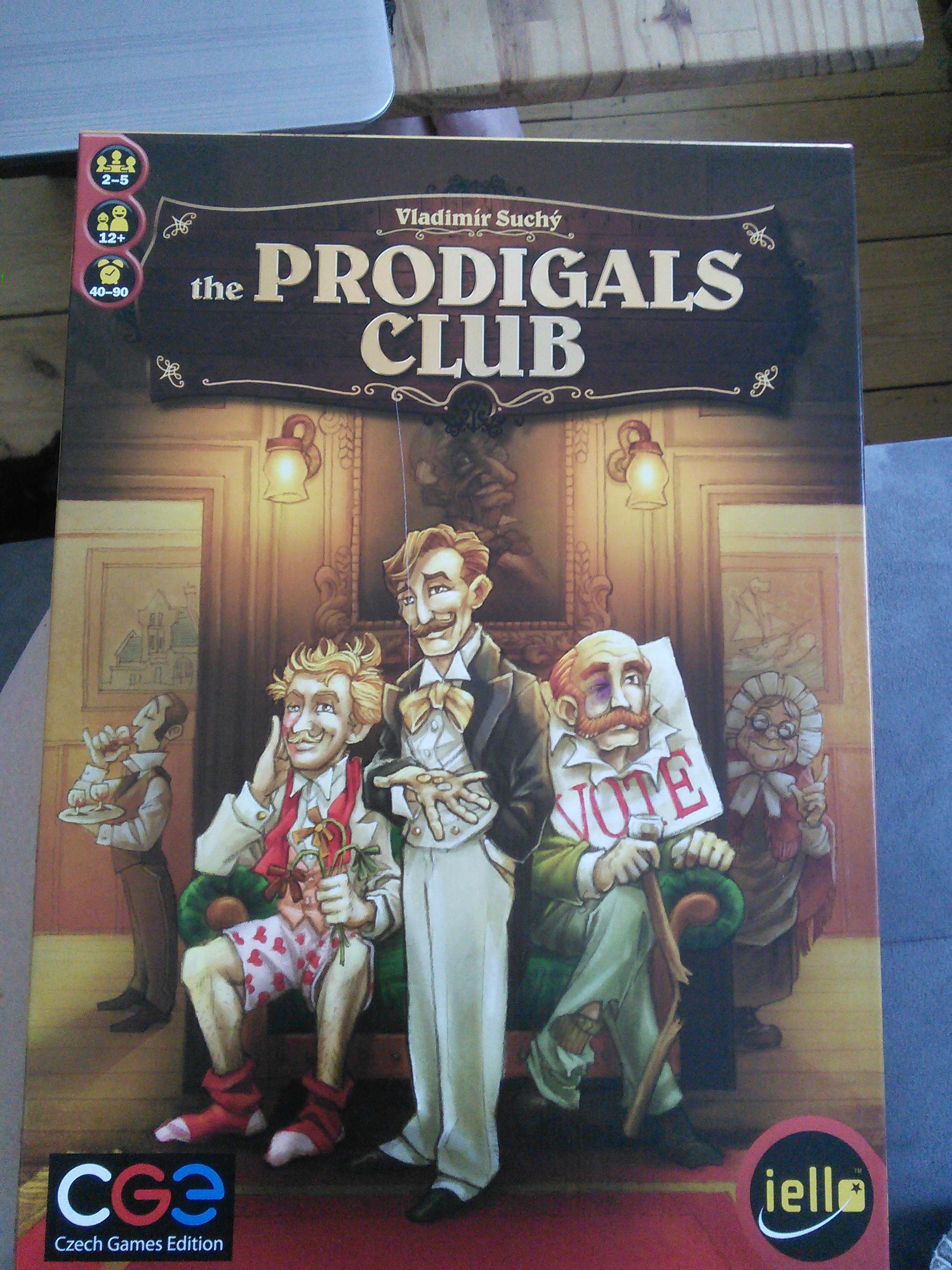 The Prodigals Club VF 2016