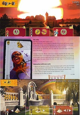 7 Wonders (goodies) : Catan + Manneken Pis + Stevie Wonders