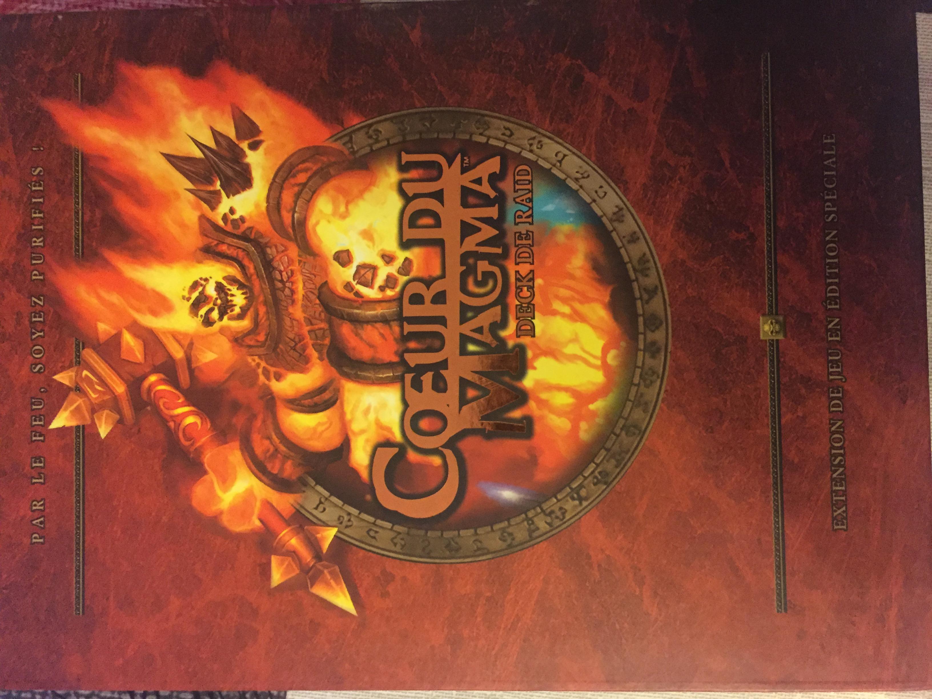 Warcraft JCC Extension Deck de Raid Cœur de Magma