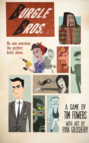 Burgle Bros. + cartes promotionnelles