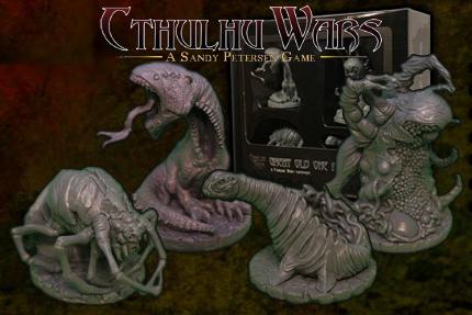 Cthulhu Wars : Les Grands Anciens Indépendants 2