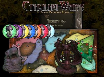 Cthulhu Wars : La Carte De Yuggoth