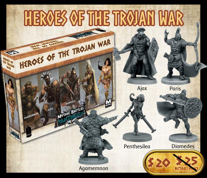 mythic battles pantheon : Trojan war