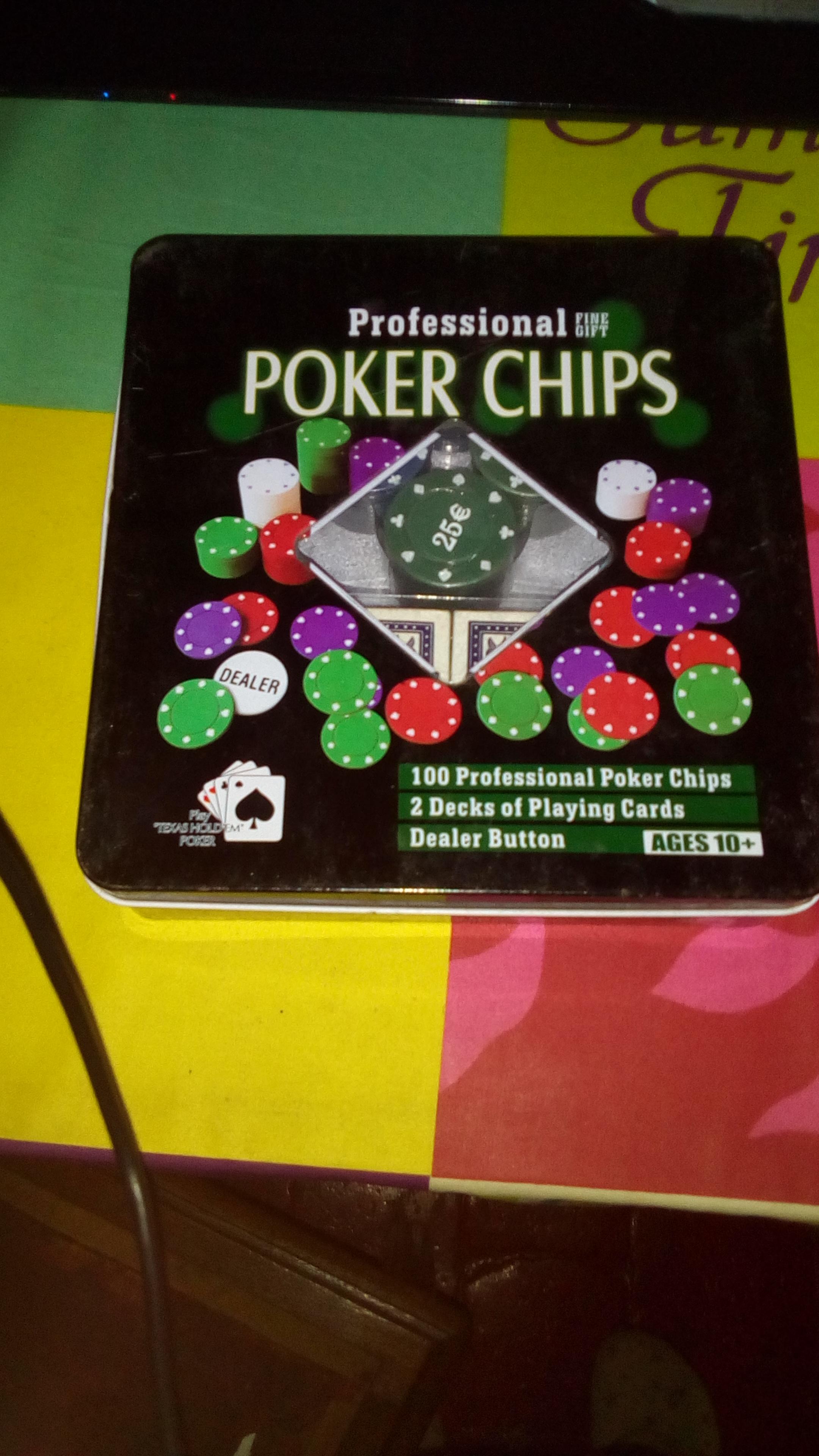 Boîte Poker