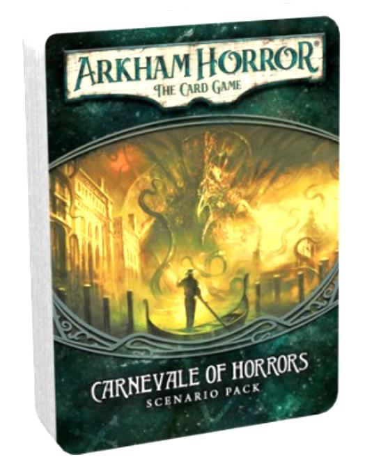 Arkham Horror : The Card Game - Carnevale of Horrors Scenario Pack (POD)