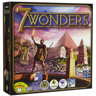 7 Wonders + Extension Leaders, Cities et Wonder Pack - VF