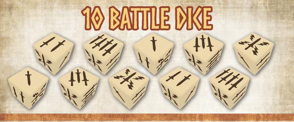 mythic battles pantheon - battle dice