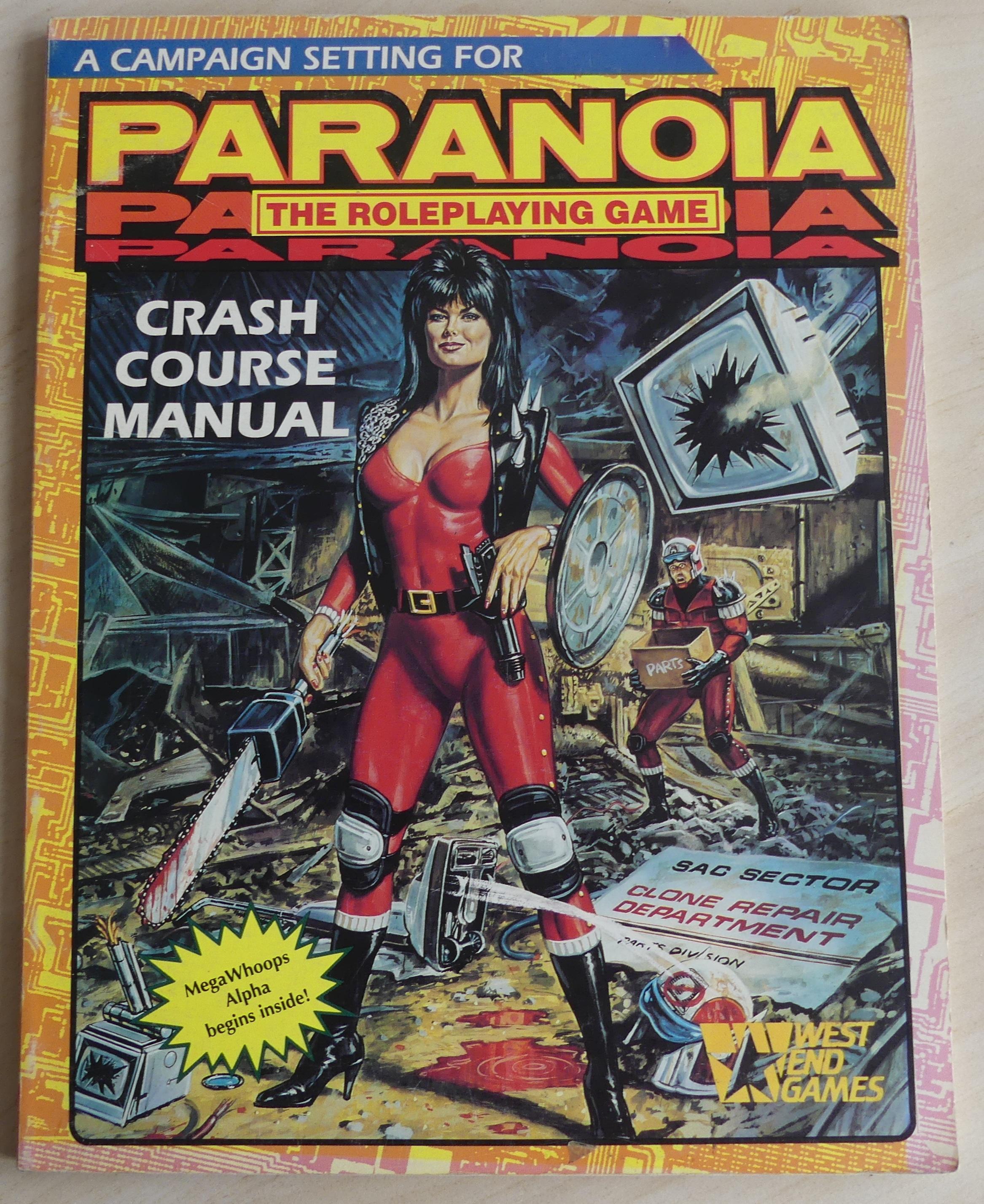 a campaign setting for paranoia: crash course manual