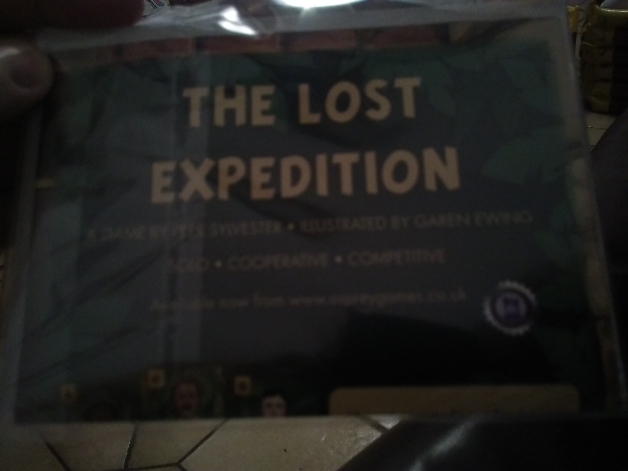 The Lost Expedition - Goodie 2017
