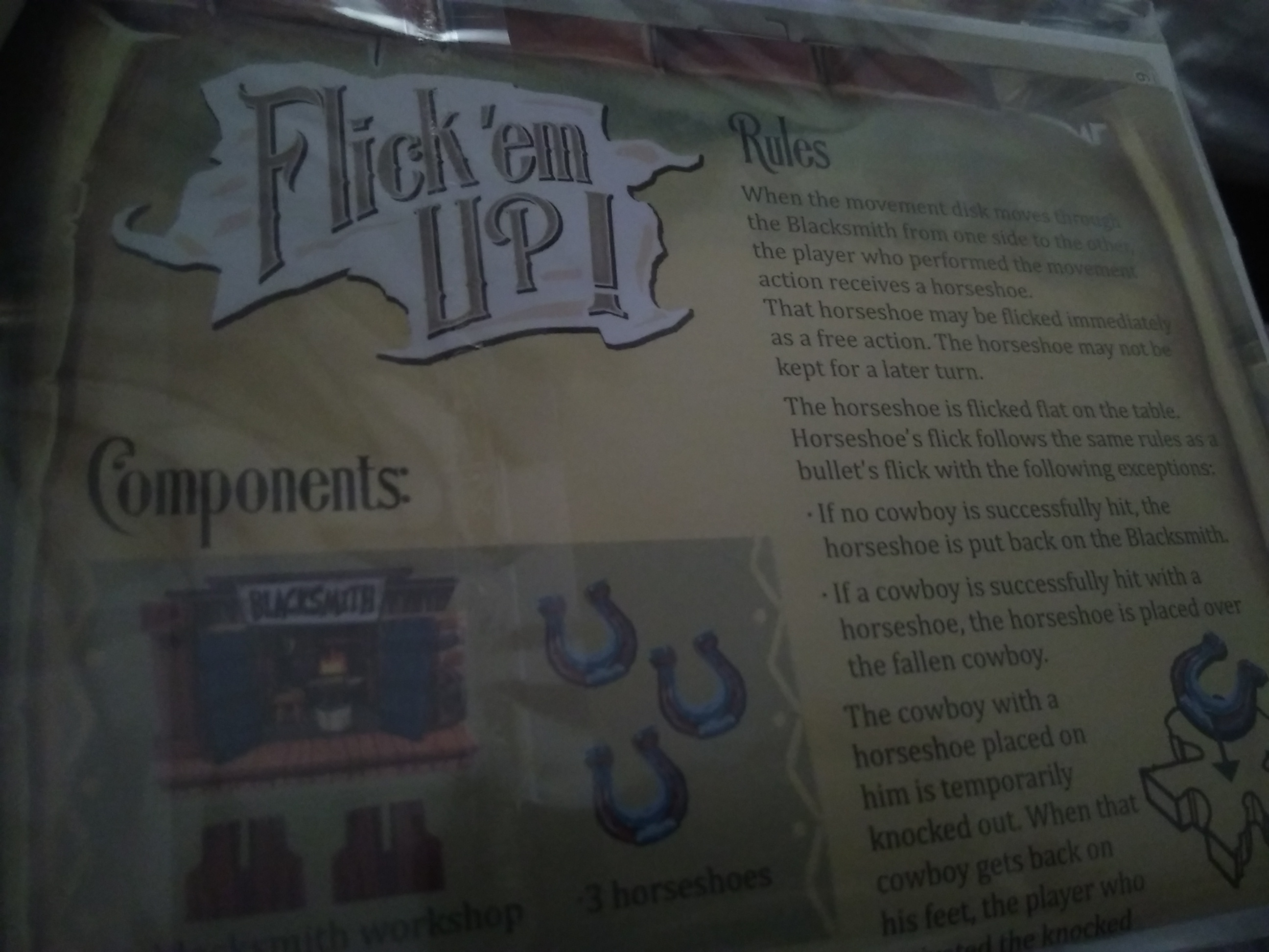 Flick'em Up! Blacksmith