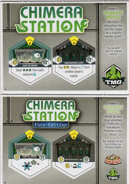 Chimera Station - Tuiles promotionnelles