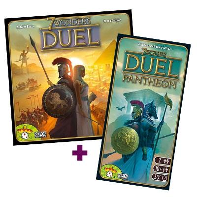 7 Wonders Duel + Panthéon