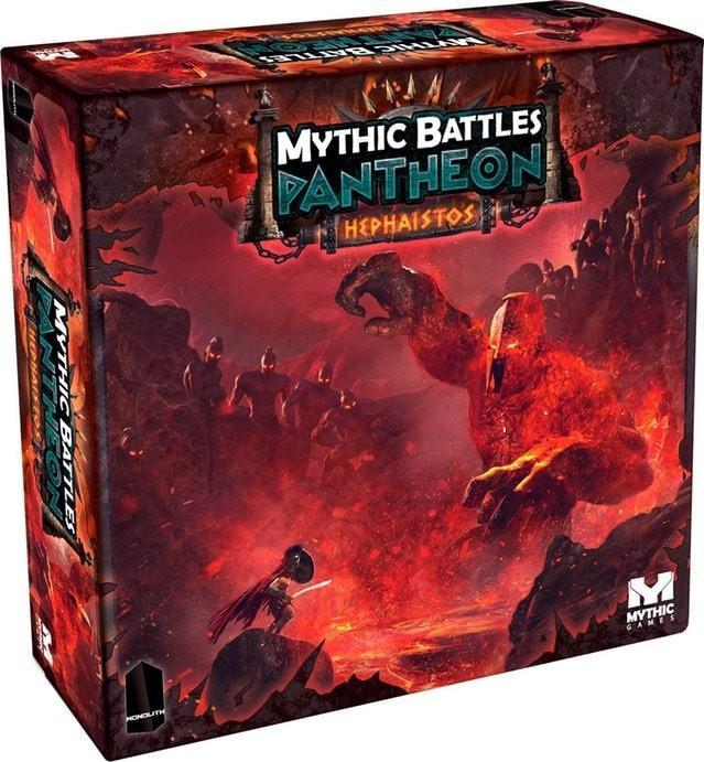 Mythic Battles Pantheon : Hephaïstos