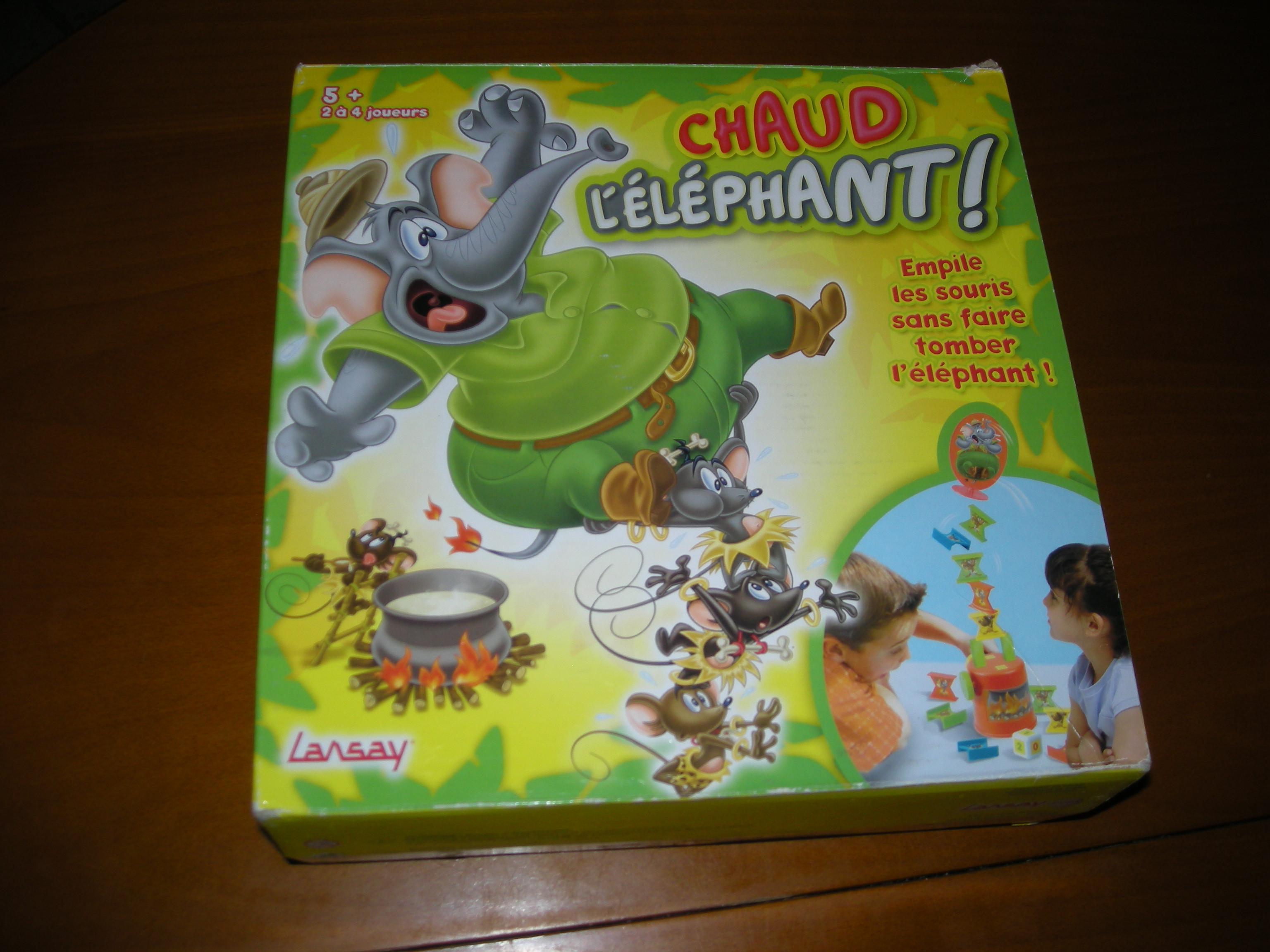 CHAU L'ELEPHANT !