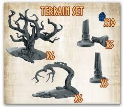 Mythic Battles Pantheon : Terrain Set