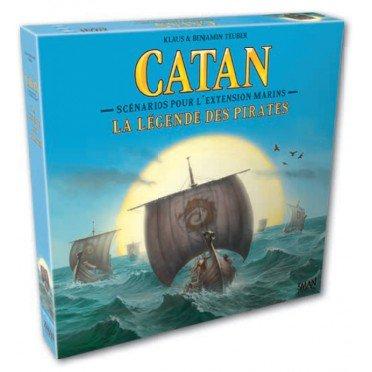 Catane / Les colons de catane : Marins - Scénarios La Légende des Pirates