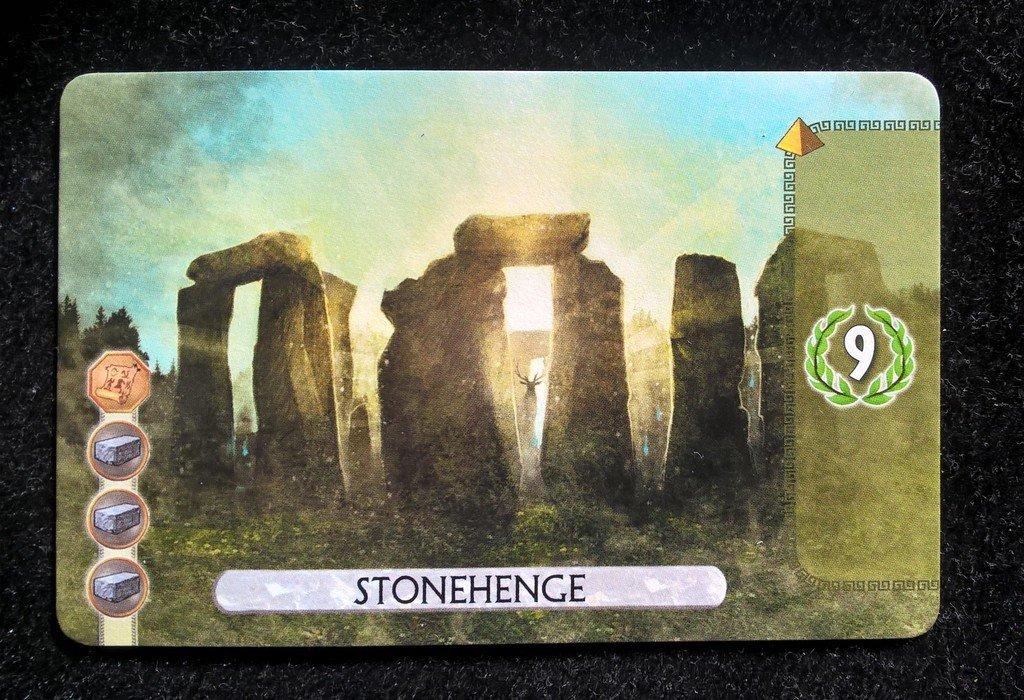 7 Wonders Duel : Merveille Stonehenge