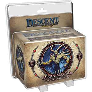 Descent : Lieutenant Gargan Mirklace