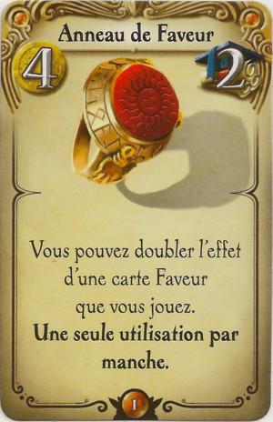 Alchimistes - Anneau de Faveur