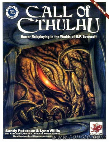 Call of Cthulhu - 5th edition