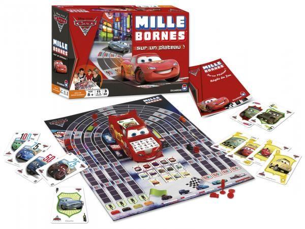 1000 bornes Cars 2 - jeu de plateau